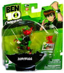 Ben 10 Omniverse: Juryrigg action figure (BanDai/2013)
