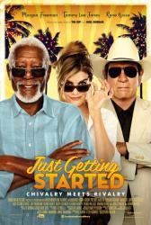 Just Getting Started poster [Morgan Freeman, Tommy Lee Jones] 27x40
