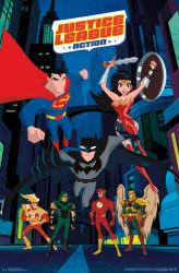 Justice League Action poster (22x34) animated TV series