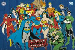 Justice League of America poster: Retro Heroes (36x24) DC Comics