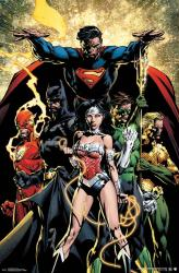 Justice League poster: Power (22x34) DC Comics