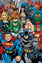 Justice League of America poster: The Heroes (24x36) DC Comics