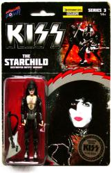 KISS Destroyer: Starchild Paul Stanley Firehat figure (Bif Bang Pow)