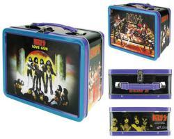 KISS Love Gun lunch box tin tote (Bif Bang Pow/2019) New