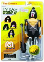 "KISS: Gene Simmons The Demon 8"" retro-style action figure (MEGO/2018)"