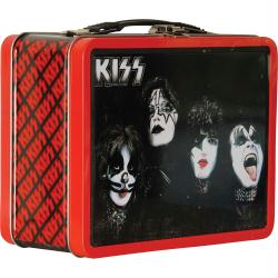 KISS collectible Lunch Box Tin Tote Gift Set (Bif Bang Pow!/2015)