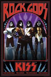 KISS poster: Rock Gods (24x36) music poster