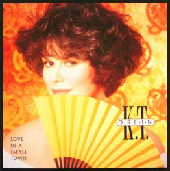 K.T. Oslin poster: Love in a Small Town vintage LP/album flat