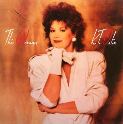 K.T. Oslin poster: This Woman vintage LP/album flat