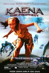 Kaena: The Prophecy movie poster (2003) 27x40 video version