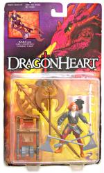 Dragonheart: Kara action figure with Axe-Chopping Combat Cart (Kenner)