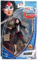 "DC Super Hero Girls: 6"" Katana action figure (Mattel/2015)"