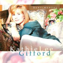 Kathie Lee Gifford poster: Sentimental vintage LP/Album flat (1993)