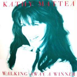 Kathy Mattea poster: Walking Away A Winner vintage LP/Album flat