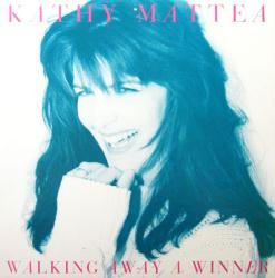 Kathy Mattea poster: Walking Away A Winner vintage album flat (1994)