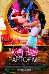 Katy Perry: Part of Me movie poster (2012) original 27x40