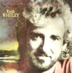 Keith Whitley poster: I Wonder Do You Think of Me vintage album flat