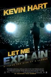 Kevin Hart: Let Me Explain movie poster (original 27x40 one-sheet) NM