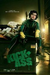 Kick-Ass movie poster [Aaron Johnson as Kick-Ass] advance