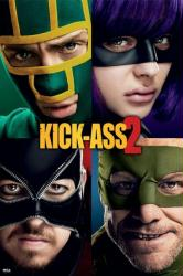 Kick-Ass 2 movie poster [Aaron Taylor-Johnson/Chloe Grace Moretz]