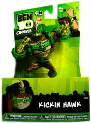 "Ben 10 Omniverse: 5 1/2"" Kickin Hawk action figure (Bandai/2012)"