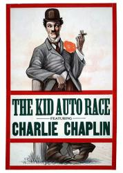 The Kid Auto Race movie poster [Charlie Chaplin] 18'' X 24''