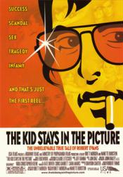 The Kid Stays In the Picture promo postcard [Robert Evans documentary]