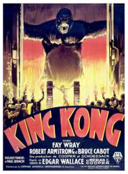 King Kong movie poster (1933) 18x24 French version