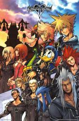 Kingdom Hearts video game poster (22x34) Disney