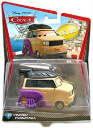 Cars 2 [Disney/Pixar] Kingpin Nobunaga deluxe vehicle (Mattel/2010)