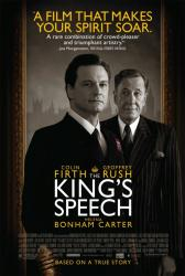 The King's Speech movie poster [Colin Firth & Geoffrey Rush] 27 X 40