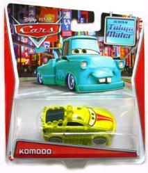 Cars [Tokyo Mater] Komodo die-cast vehicle (Mattel/2013) Disney/Pixar