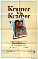 Kramer vs. Kramer movie poster [Dustin Hoffman, Meryl Streep] 27x41