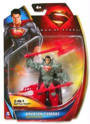Man of Steel: Krypton Combat Superman action figure (Mattel/2013)