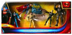 Man of Steel: Kryptonian Invasion 5-Pack of figures (Mattel/2013)