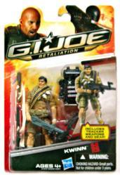 G.I. Joe Retaliation: Kwinn action figure (Hasbro/2012)