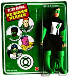 Retro Action DC Super Heroes: Kyle Rayner action figure (Mattel)