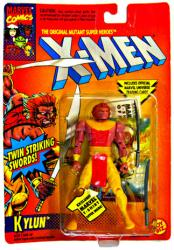 X-Men: Kylun action figure (ToyBiz/1994)