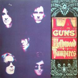 L.A. Guns poster: Hollywood Vampires vintage LP/Album flat