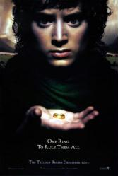 Lord of the Rings: Fellowship of Ring movie poster [Elijah Wood] mini