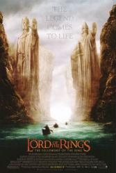 Lord of the Rings: Fellowship of the Ring movie poster (mini version)