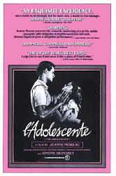 L'Adolescente movie poster [a Jeanne Moreau film] original 27 X 41