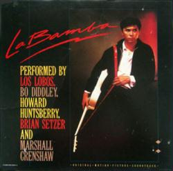 La Bamba soundtrack poster: vintage LP/Album flat (VG)
