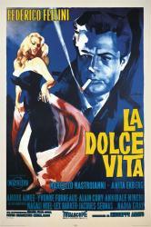 La Dolce Vita movie poster [Marcello Mastroianni/Anita Ekberg] 24x36