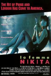 La Femme Nikita movie poster [Anne Parillaud] a Luc Besson film