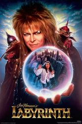 Labyrinth movie poster [David Bowie, Jennifer Connelly] 24x36