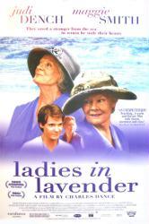Ladies In Lavender movie poster [Judi Dench/Maggie Smith/Daniel Bruhl]