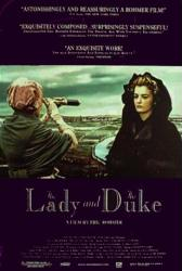 The Lady and the Duke movie poster [Eric Rohmer film] original 27x40