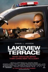 Lakeview Terrace movie poster [Samuel L. Jackson] 27x40