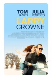 Larry Crowne movie poster [Tom Hanks, Julia Roberts] original 27x40